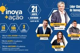 Inova+Ação terá atração internacional nesta edição